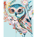 Painting By Numbers Kit DIY Hand Painted Canvas Oil Art Craft Decor (Bird)