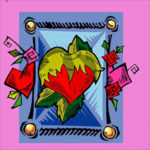 5D DIY Full Drill Diamond Painting Love Heart Cross Stitch Decor (C898)