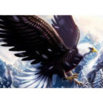 5D DIY Full Drill Diamond Painting Eagle Cross Stitch Embroidery (C1176)
