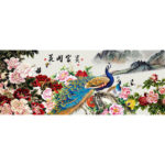 5D DIY Full Drill Diamond Painting Blossom Fortune Cross Stitch Embroidery