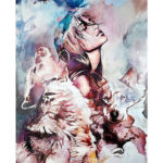 Painting By Numbers DIY Wolf Beauty Hand Painted Canvas Oil Picture Artwork