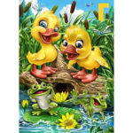 5D DIY Full Drill Diamond Painting Duck Cross Stitch Embroidery Ornaments
