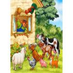 5D DIY Full Drill Diamond Painting Livestock Cross Stitch Embroidery Craft