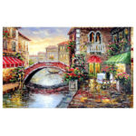 1000pcs Landscape Puzzle DIY Jigsaw Educational Toys Kids Adults Gift (H)