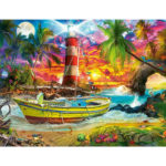 Painting By Numbers Kit DIY Boat Hand Painted Canvas Oil Art Picture Craft