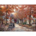 Painting By Numbers Kit DIY Maple Hand Painted Canvas Oil Art Picture Craft