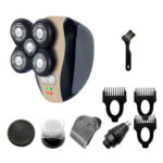 5 in 1 Electric Beard Shaver Razor Kit USB Charge Nose Hair Trimmer Clipper