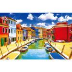 1000pcs DIY Brano Island Picture Puzzle Educational Learning Assembling Toy