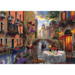 Painting By Numbers Kit DIY Buildings Hand Painted Canvas Oil Art Picture