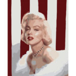 Painting By Numbers Kit DIY Eternal Monroe Canvas Oil Art Picture Craft
