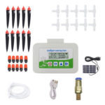 Solar Automatic Watering Device Garden Drip Irrigation Timer System (B)