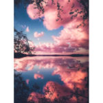 Painting By Numbers Kit DIY Color Cloud Hand Painted Canvas Oil Art Picture