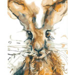 Painting By Numbers Kit DIY Rabbit Hand Painted Canvas Oil Art Picture Gift