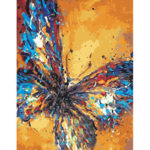 Painting By Numbers Kit DIY Quiet Butterfly Canvas Oil Art Picture Craft