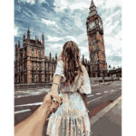 DIY Holding Hands Painting By Numbers Kit Canvas Oil Art Picture Home Decor