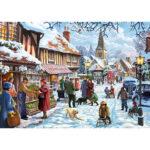 5D DIY Full Drill Diamond Painting Snow Tour Cross Stitch Embroidery Mosaic