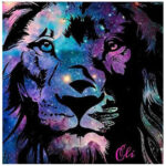 5D DIY Full Drill Diamond Painting Luminous Tiger Cross Stitch Embroidery