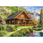 5D DIY Full Drill Diamond Painting Nature House Cross Stitch Embroidery Kit