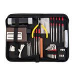 14pcs Guitar Bass Cleaning Maintenance String Replacement Kit Repair Tools