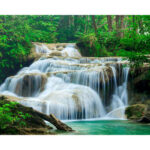 5D DIY Diamond Painting Needlework Full Drill Waterfall Cross Stitch Kit