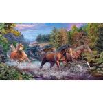 5D DIY Diamond Painting Full Drill Rhinestone Picture Horse Cross Stitch
