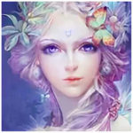 5D DIY Full Drill Diamond Painting Fairy Beauty Cross Stitch Embroidery