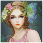 5D DIY Diamond Painting Full Drill Rhinestone Picture Beauty Cross Stitch