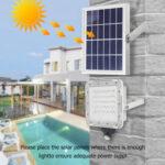 80 LED Solar Wall Lamp Motion Sensor IP66 Street Path Security Floodlight