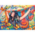 5D DIY Butterflies and Beauty Diamond Painting Cross Stitch Mosaic Decor