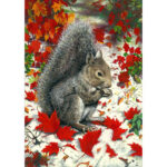 5D Diamond Painting Squirrel DIY Full Drill Picture Animal Art Cross Stitch
