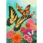 5D Diamond Painting Butterfly DIY Full Round Drill Rhinestone Cross Stitch