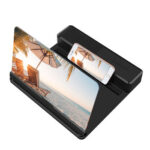 26X 12 inch HD Cell Phone Screen Magnifier Amplifier with Bluetooth Speaker