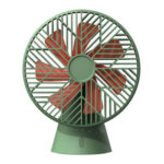 7 Blade Mute Mini USB Portable Cooling Fan Home Office Desktop Fan (Green)