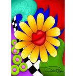 5D DIY Diamond Painting Sunflower Full Drill Rhinestone Embroidery Mosaic