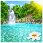 5D DIY Diamond Painting Waterfalls Full Drill Cross Stitch Scenery Picture