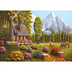5D DIY Full Drill Diamond Painting Easeful House Cross Stitch Embroidery