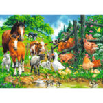 5D DIY Full Drill Diamond Painting Happy Farm Cross Stitch Embroidery Craft