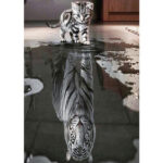 5D DIY Diamond Painting Cat Tiger Full Drill Cross Stitch Animal Picture