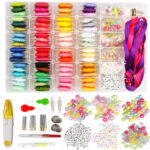 Embroidery Stitching Punch Needle Threads with Case Sets DIY Sewing Tools