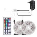 LED Strip Light RGB Flexible Tape Lamp w/ 44 Keys Remote Control (10m)