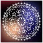 5D DIY Full Drill Diamond Painting Ethnic Pattern Cross Stitch Embroidery