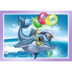 5D DIY Diamond Painting Balloon Dolphin Full Drill Embroidery Cartoon Art