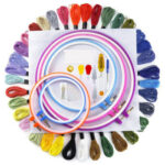 DIY Sewing Embroidery Knitting Stitching Tools Kit Cross Stitch Accessories