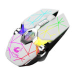 X13 Wireless Gaming Mouse USB Rechargeable Dual Mode 2.4GHz Bluetooth Mouse