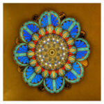5D DIY Full Drill Diamond Painting Flower Cross Stitch Rhinestones Mosaic