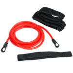 Swimming Training Resistance Belt Adjustable Elastic Rope (Red 6x10x3)