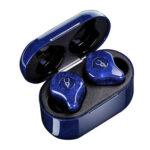 Sabbat E12 Ultra Bluetooth Earphones TWS Stereo MIC In-Ear Headset (Blue)
