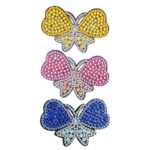 3pcs DIY Full Drill Diamond Painting Hair Clip Butterfly Women Girl Hairpin
