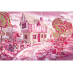 1000pcs Candy House Puzzle DIY Paper Jigsaw Educational Toys for Kids Adult