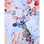 1000pcs Colorful Deer Jigsaw Paper Puzzles Educational Toys for Children
